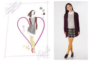 """To All the Boys I've Loved Before"" wardrobe"