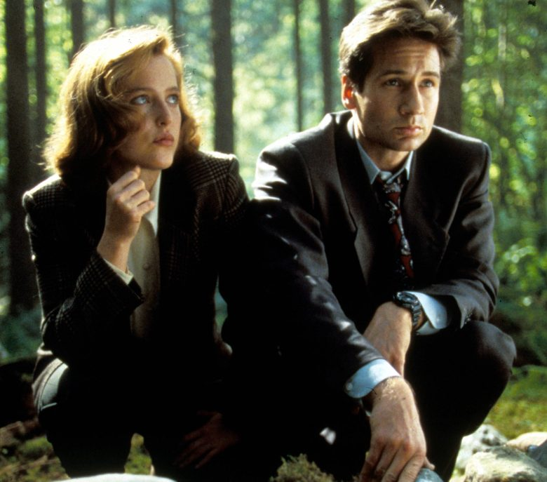 No Merchandising. Editorial Use Only. No Book Cover Usage.Mandatory Credit: Photo by Moviestore/REX/Shutterstock (1650800a)The X-files , Gillian Anderson, David DuchovnyFilm and Television