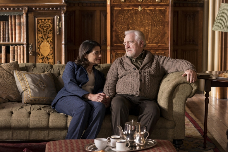 Succession Season 1 Episode 10 Hiam Abbass, Brian Cox