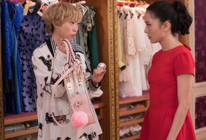 Awkwafina and Constance Wu Crazy Rich Asians