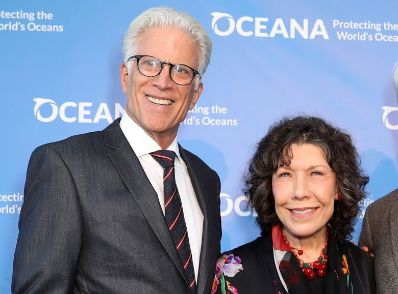 Ted Danson, Lily Tomlin and Sam WaterstonOceana SeaChange Summer Party, Arrivals, Los Angeles, USA - 15 Jul 2017