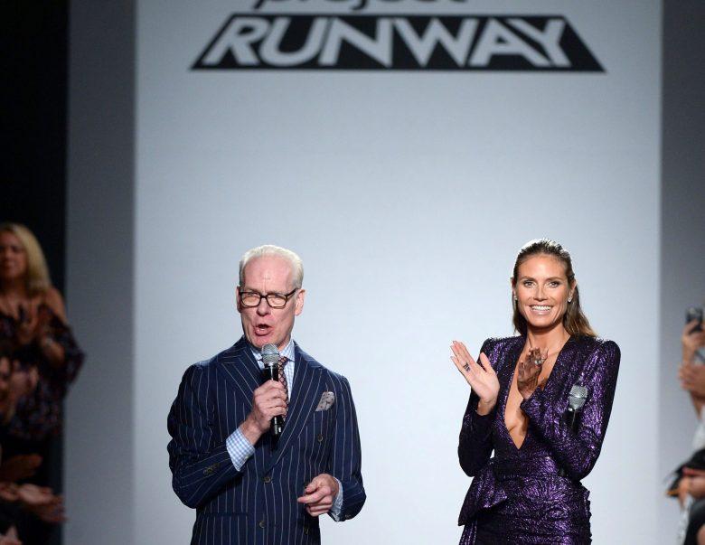 Tim Gunn, Heidi KlumProject Runway show, Runway, Spring Summer 2018, New York Fashion Week, USA - 08 Sep 2017