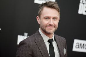 """Chris Hardwick attends the Live Special Edition of """"Talking Dead"""" at the Hollywood Forever Cemetery, in Los AngelesLive Special Edition of """"Talking Dead"""", Los Angeles, USA"""