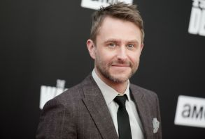 "Chris Hardwick attends the Live Special Edition of ""Talking Dead"" at the Hollywood Forever Cemetery, in Los AngelesLive Special Edition of ""Talking Dead"", Los Angeles, USA"