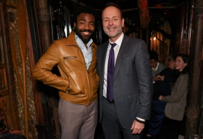 Donald Glover and John Landgraf'Atlanta' TV show premiere, After Party, Los Angeles, USA - 19 Feb 2018'Atlanta' Season Two Premiere