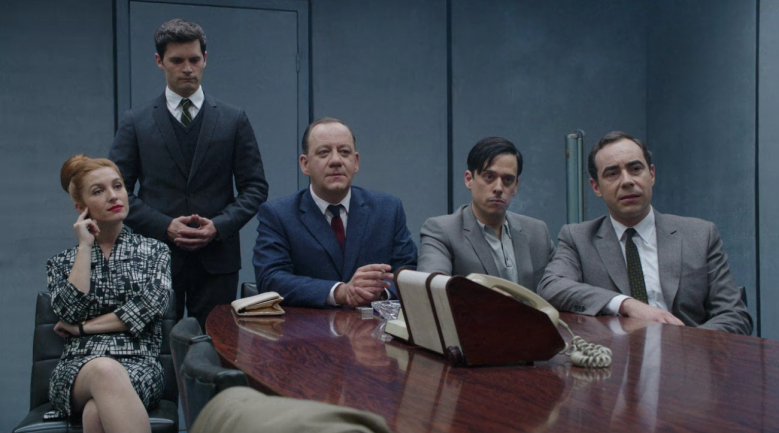A Very Secret Service Netflix Boardroom