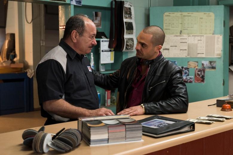 Michael Mando as Nacho Varga, Juan Carlos Cantu as Nacho's Father- Better Call Saul _ Season 3, Episode 10 - Photo Credit: Michele K. Short/AMC/Sony Pictures Television