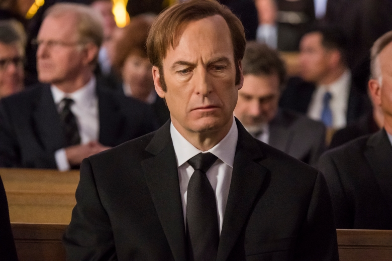 Bob Odenkirk as Jimmy McGill - Better Call Saul _ Season 4, Episode 1 - Photo Credit: Nicole Wilder/AMC/Sony Pictures Television
