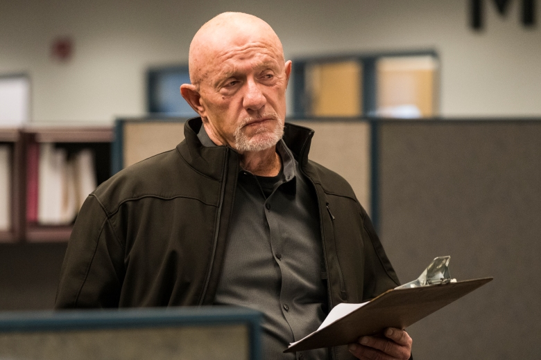Jonathan Banks as Mike Ehrmantraut - Better Call Saul _ Season 4, Episode 1 - Photo Credit: Nicole Wilder/AMC/Sony Pictures Television