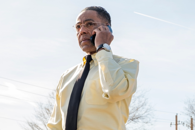 "Giancarlo Esposito as Gustavo ""Gus"" Fring - Better Call Saul _ Season 4, Episode 2 - Photo Credit: Nicole Wilder/AMC/Sony Pictures Television"