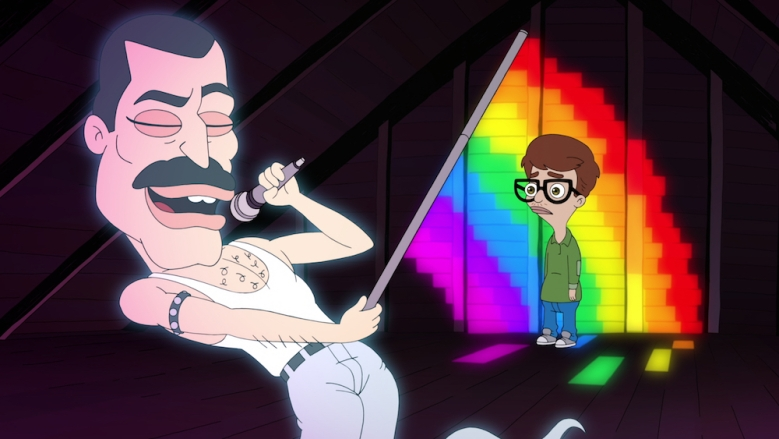 Big Mouth Season 1 Freddie Mercury