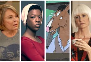 """Roseanne,"" ""The Handmaid's Tale,"" ""BoJack Horseman,"" ""Twin Peaks"""