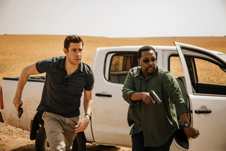 Jack Ryan John Krasinski Wendell Pierce Amazon Season 1