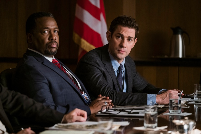 Jack Ryan Season 1 Wendell Pierce John Krasinski