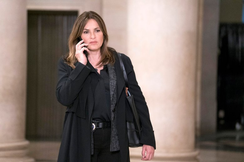 "LAW & ORDER: SPECIAL VICTIMS UNIT -- ""Remember Me Too"" Episode 1924 -- Pictured: Mariska Hargitay as Lieutenant Olivia Benson -- (Photo by: Scott Gries/NBC)"