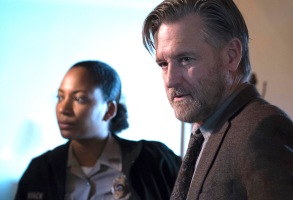 "Natalie Paul and Bill Pullman, ""The Sinner"""