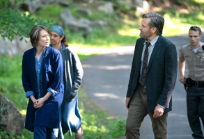 "Carrie Coon and Bill Pullman, ""The Sinner"""