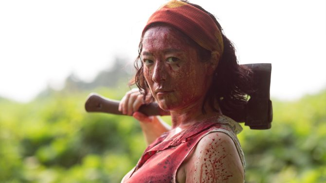 One cut of the Dead Review: Best Zombie Comedy Since Shaun of the