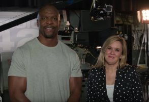 Terry Crews and Samantha Bee