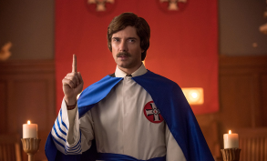 "Topher Grace as David Duke in ""BlacKkKlansman"""