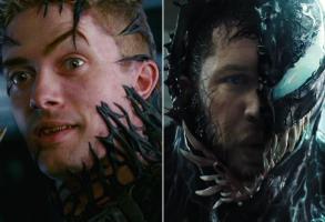 "Topher Grace in ""Spider-Man 3,"" Tom Hardy in ""Venom"""