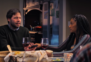 Ike Barinholtz and Tiffany Haddish The Oath
