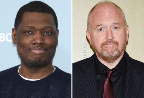 Michael Che and Louis C.K.