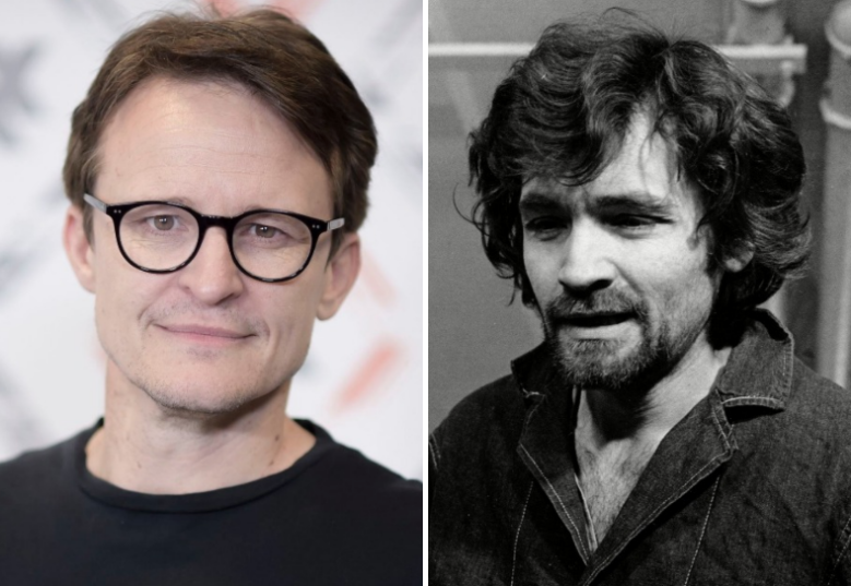 Damon Herriman and Charles Manson