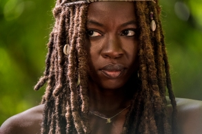 Danai Gurira as Michonne - The Walking Dead _ Season 9, Episode 1 - Photo Credit: Jackson Lee Davis/AMC