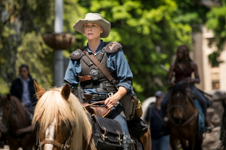 Melissa McBride as Carol Peletier - The Walking Dead _ Season 9, Episode 1 - Photo Credit: Jackson Lee Davis/AMC
