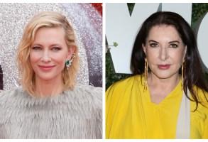 Cate Blanchett Marina Abramovic