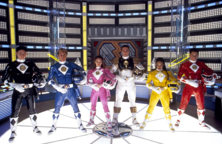 No Merchandising. Editorial Use Only. No Book Cover Usage.Mandatory Credit: Photo by Moviestore/REX/Shutterstock (1600845a)Mighty Morphin Power Rangers: The Movie, Johnny Young Bosch, David Yost, Amy Jo Johnson, Jason David Frank, Karan Ashley, Steve CardenasFilm and Television
