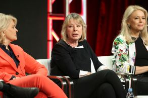 Candice Bergen, Diane English and Faith FordCBS 'Murphy Brown' TV show panel, TCA Summer Press Tour, Los Angeles, USA - 05 Aug 2018