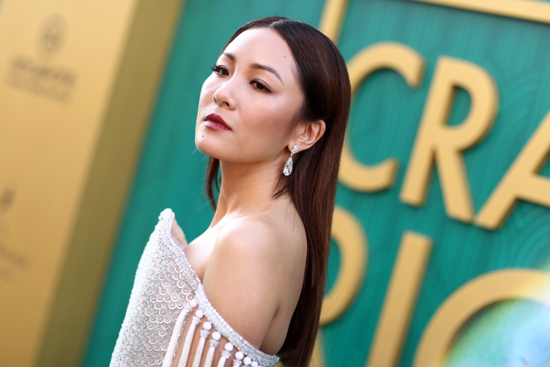 The premiere film Constance Wu & # 39; Crazy Rich Asia, Arrival, Los Angeles, USA - August 7, 2018