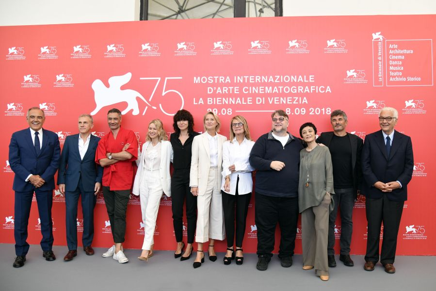Venice Competition Jury Photocall
