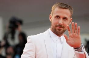 Actor Ryan Gosling poses for photographers at the premiere of the film 'First Man' and the opening Ceremony of the 75th edition of the Venice Film Festival in VeniceFilm Festival 2018 Opening Ceremony Red Carpet, Venice, Italy - 29 Aug 2018