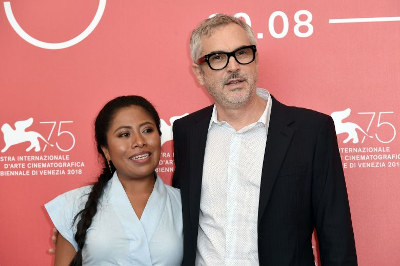 Alfonso Cuaron, Yalitza Aparicio'Roma' photocall, 75th Venice International Film Festival, Italy - 30 Aug 2018