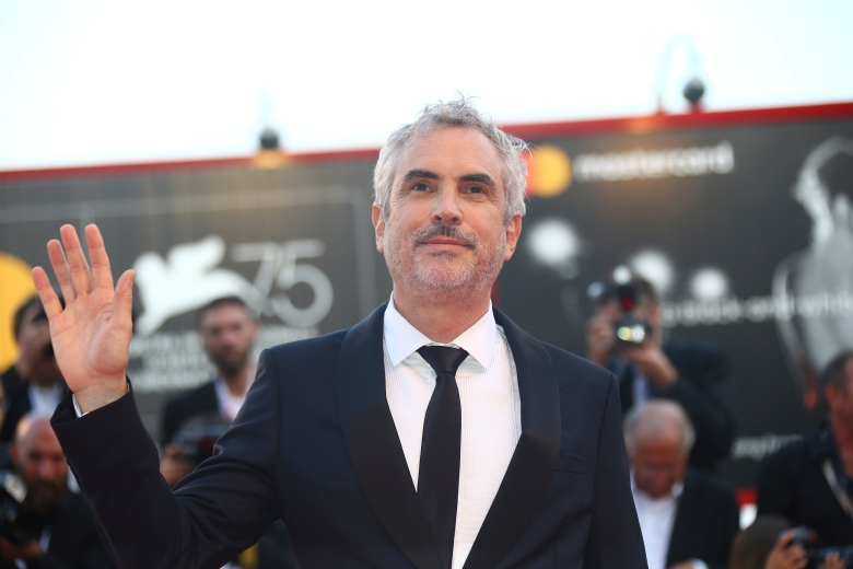 Alfonso Cuaron poses for photographers at the premiere of the film 'Roma ' at the 75th edition of the Venice Film Festival in Venice, ItalyFilm Festival 2018 Roma Red Carpet, Venice, Italy - 30 Aug 2018