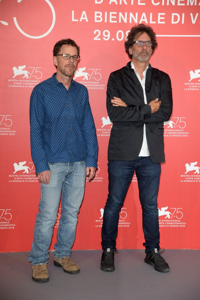 Joel Coen, Ethan Coen'The ballad of Buster Scruggs' photocall, 75th Venice Film Festival, Italy - 31 Aug 2018