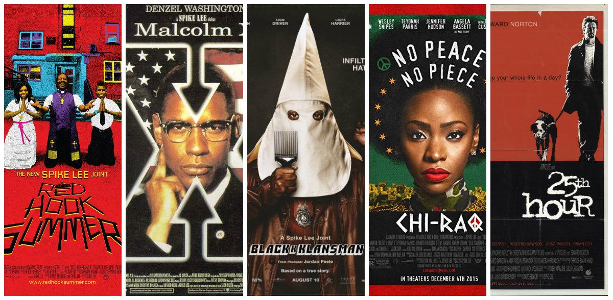Spike Lee's Career in Movie Posters