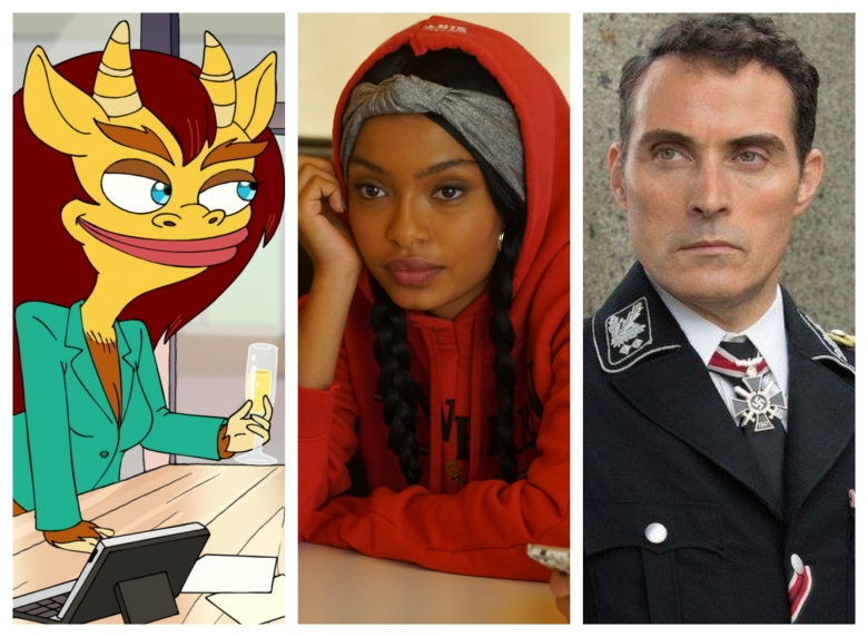 """Big Mouth,"" ""Grown-ish,"" ""The Man in the High Castle"""