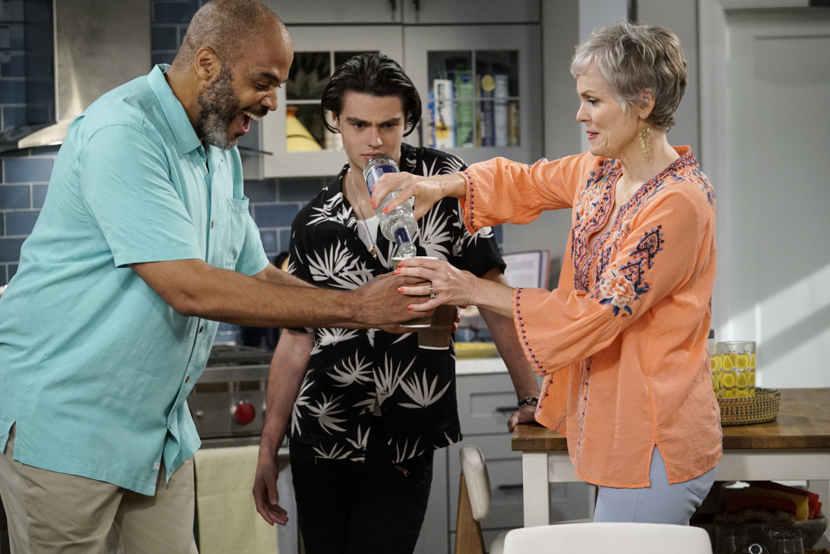 """Happy Together"" Victor Williams, Felix Mallard, and Stephnie Weir CBS"