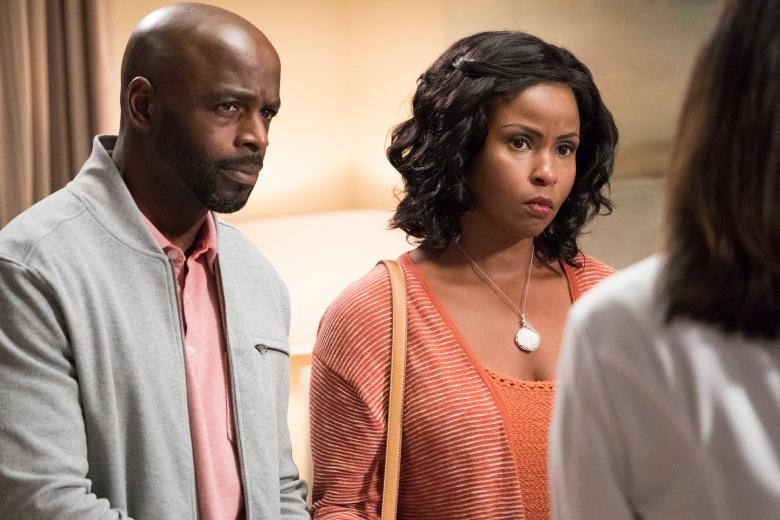 "Alimi Ballard and Khalilah Joi, ""The Good Doctor"""