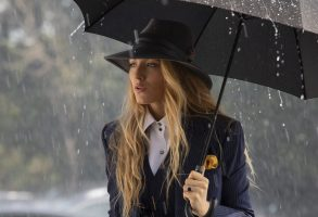 Blake Lively stars as 'Emily' in A Simple Favor.