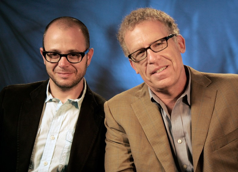 Damon Lindelof, Carlton Cuse Producers Damon Lindelof, left and Carlton Cuse pose for a portrait in New YorkAP on TV Lost Cuse and Lindelof, New York, USA