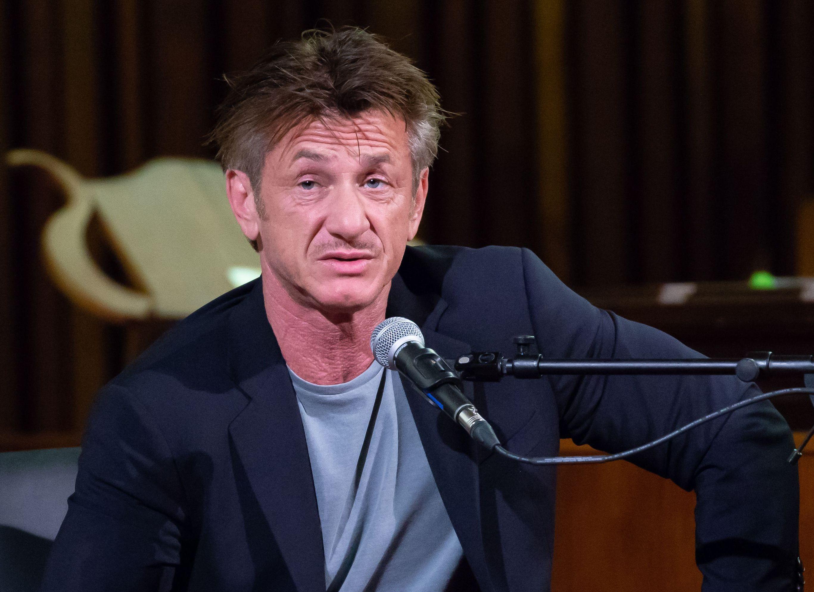 Sean Penn tells critics of his new novel: I'm 57 and my ...  |Sean Penn
