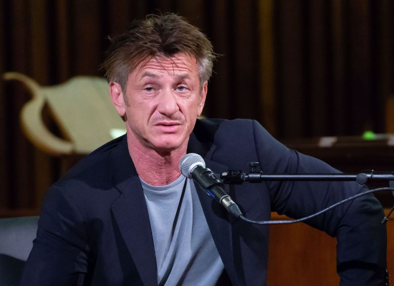 Sean PennSean Penn 'Bob Honey Who Just Do Stuff' book launch and conversation, Central Presbyterian Church, Austin, USA - 03 Apr 2018
