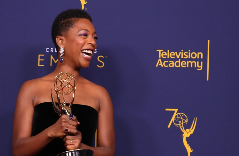 Samira WileyCreative Arts Emmys, Press Room, Los Angeles, USA - 08 Sep 2018