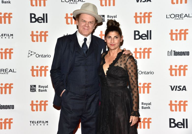 "John C. Reilly, Alison Dickey. John C. Reilly, left, and Alison Dickey attend the premiere for ""The Sisters Brothers"" on day 3 of the Toronto International Film Festival at the Princess of Wales Theatre, in Toronto2018 TIFF - ""The Sisters Brothers"" Premiere, Toronto, Canada - 08 Sep 2018"