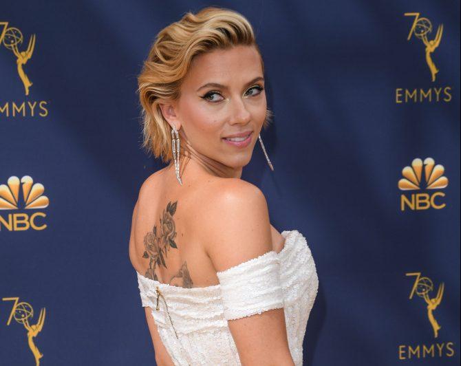 Scarlett Johansson70th Primetime Emmy Awards, Arrivals,